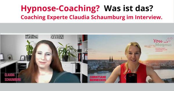 DiSG® Trainer im Gespräch – Claudia Schaumburg über Hypnose-Coaching