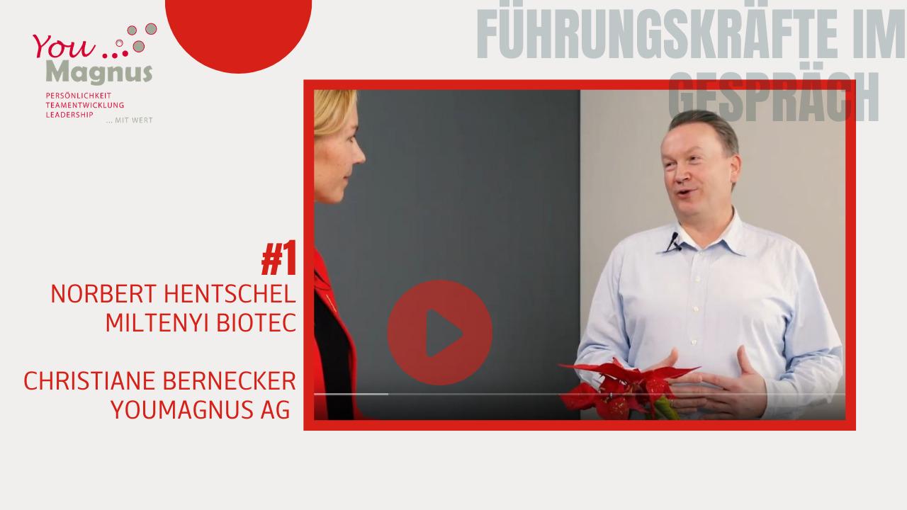Unternehmen mit DiSG im Einsatz berichten - Norbert Hentschel Miltenyi Biotec
