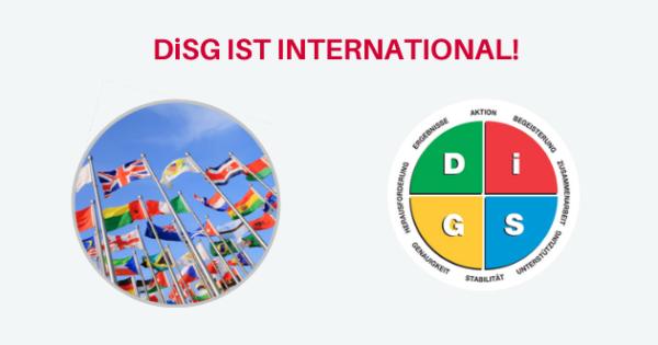 DiSG – international? Na klar!