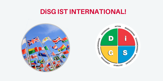 DiSG - international? Na klar!