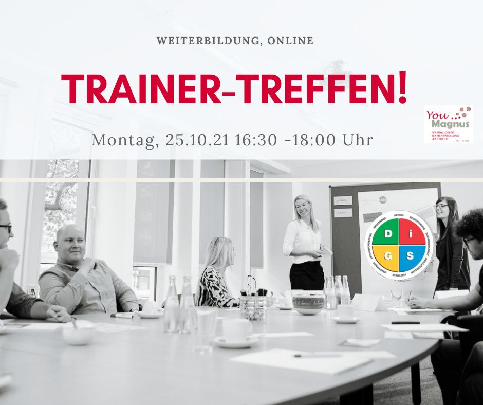 TrainerTreffen Online 25.10.2021